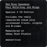 Paul Mccartney & Wings - Red Rose Speedway (2CD) '2018