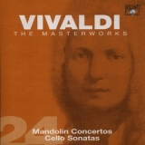 Antonio Vivaldi - The Masterworks (CD24) - Mandolin Concertos, Cello Sonatas '2004