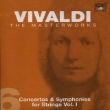 Antonio Vivaldi - The Masterworks (CD6) - Concertos And Symphonies For Strings Vol.1 '2004