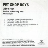 Pet Shop Boys - Disco Four - Remixed By Pet Shop Boys '2007