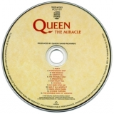 Queen - The Miracle (Japanese Remastered) '1989