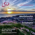Mendelssohn - Symphony No 3 'Scottish', Overture The Hebrides; Schumann - Piano Concerto (London Symphony Orchestra, Sir John Eliot Gardiner, Maria João Pires) '2014