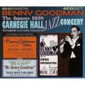 Benny Goodman - The Complete Famous Carnegie Hall Jazz Concert Plus 1950s Material (4CD) '2006