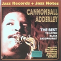Cannonball Adderley - The Best.to Listen Black Saxophonist '2004