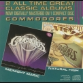 Commodores, The - Natural High / Midnight Magic '1991 (1978-1979