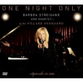 Barbra Streisand - One Night Only Barbra Streisand And Quartet At The Village Vanguard September... '2010