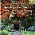Brahms - Yoel Levi / Atlanta Symphony Orchestra / Serenade No. 1 / Variations On A The... '1993