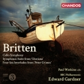 Britten - Symphony For Cello And Orchestra Etc '2011