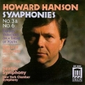 Hanson, Howard - Symphonies, Vol. 2 - Seattle Symphony - Schwarz '1997
