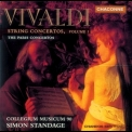 Collegium Musicum 90, Simon Standage - Vivaldi - String Concertos, Vol.1 - The Paris Concertos '1999