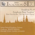Janis Ivanovs - The Late Frost In Spring, Symphony 8, Lacplesis (resnis, Tons, Sinaisky '1997