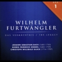 Wilhelm Furtwangler - The Legacy, Box 1:  Baroque and Pre-Classical Period '2010