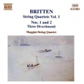 Britten - String Quartets Vol. 1 (maggini Quartet) '1999