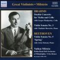 Various Artists - Great Violinists - Milstein - Brahms Double Concerto, Violin Sonatas '2006