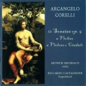 Corelli Arcangelo - Corelli а La Mode - Sonatas 7-12, Op. 5 - Stefant Temmingh & Olga Watts '2009