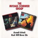 Michael Schenker Group, The - Assault Attack,Rock Will Never Die (1996 Remastered ) (2CD) '1996
