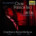 Oscar Peterson Trio, The - Last Call At The Blue Note '1990