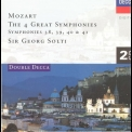 Sir Georg Solti - Mozart: The Great Symphonies 38, 39, 40 & 41 '1997