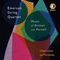 Emerson String Quartet - Chaconnes and Fantasias Music of Britten and Purcell '2017