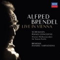 Alfred Brendel - Schumann: Piano Concerto - Brahms: Variations & Fugue On A Theme By Handel (live In Vienna) '2018