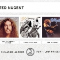 Ted Nugent - Cat Scratch Fever / Free-For All / Ted Nugent (3 Pak) '1999