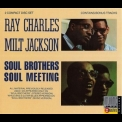 Ray Charles & Milt Jackson - Soul Brothers, Soul Meeting Disc 1 '1989
