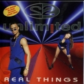 2 Unlimited - Real Things! (CD, Album) (Belgium, Byte Records, BYTE103-2) '1994