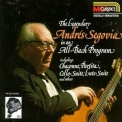 Andres Segovia - Segovia Collection Vol. 1 - Bach '1987