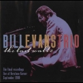Bill Evans Trio, The - The Last Waltz Cd8 '1980